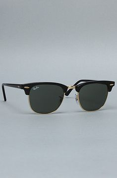 2606a43301 Ray Ban The 49mm Clubmaster Sunglasses in Ebony   Karmaloop.com - Global  Concrete Culture