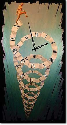 ANTOINE MANSOUR paintings Metaphysical surrealism:When Art paints spiritual philosophy. - ANTOINE MANSOUR paintings Metaphysical surrealism:When Art paints spiritual philosophy Art And Illustration, Clock Art, Clocks, Illustrator, Time Art, Surreal Art, Art Plastique, Fantasy Art, Art Drawings