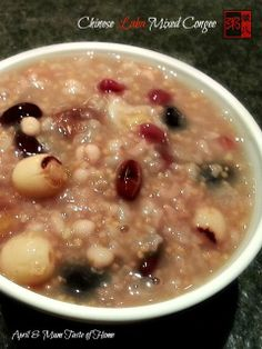 Granny's Laba Mixed Porridge | Super warm comfort, food for Chinese winter solstice over centries #Chinese_recipe #homemade_recipe #vegan
