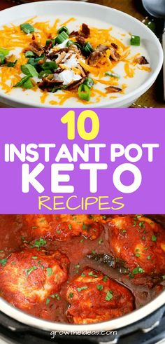 There's nothing like coming home to a healthy and comforting meal after a exhausting day of work. Fortunately, there are a lot of easy Instant Pot keto recipes below.