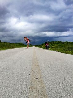 a day trip to cozumel mexico in a thunderstorm