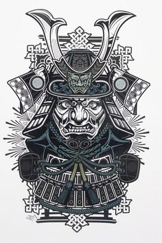 Japanese Samurai Tattoo Designs
