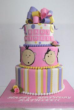 Celebrate with Cake!: Baby Girl Cake