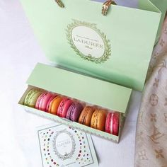 Some delicious macarons.