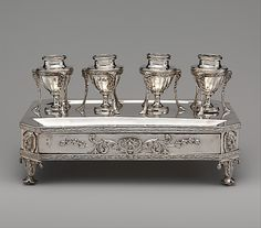 1802 British Inkstand at the Metropolitan Museum of Art, New York