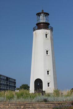 Rehoboth Beach Delaware Lighthouse