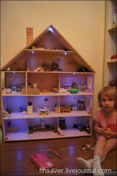 Кукольный домик. Техническое описание.