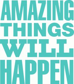 Silhouette Design Store - View Design #83554: amazing things will happen