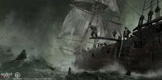 Assassin's Creed IV Black Flag Concept Art
