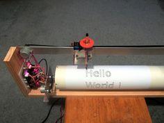 CNC Drum Plotter