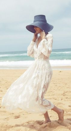 dreamy dress + hat
