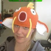 Magikarp Inspired Pokemon Hat - via @Craftsy