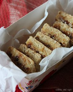 Cake Mix Toffee Bars