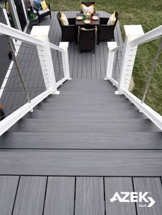 Brand NEW AZEK Deck Color: Island Oak, a fashion-forward, mid-gray tone from our Harvest Collection.