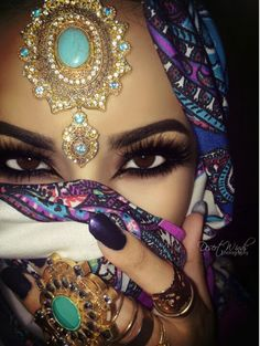 Beautiful Middle Eastern makeup