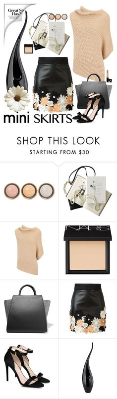 """miniskirt"" by jecakns ❤ liked on Polyvore featuring By Terry, Chanel, Joseph, NARS Cosmetics, ZAC Zac Posen, Emanuel Ungaro, STELLA McCARTNEY and MINISKIRT"