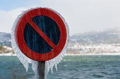 Frozen traffic sign | Flickr - Photo Sharing!
