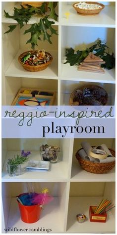 Reggio inspired playroom - Wildflower Ramblings