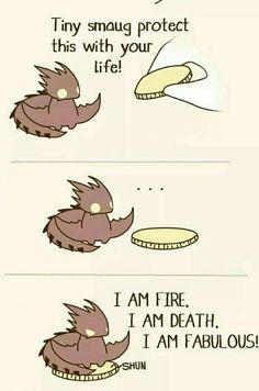 Pequeño dragón.