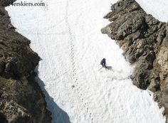Dave Bourassa backcountry skiing La Plata Peak.