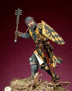 Ritter mit streitkolben Front