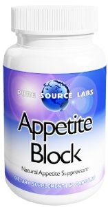 Appetite Block, All Natural Appetite Suppressant, Exclusive Blend! by Pure Source Labs. $19.95. Increases Energy. Great Appetite Suppressant. Gives Weight Loss Benefits from the 4 repected main Weight Loss Supplements on the Market. Specially Formulated for Improved Metabolism , Proudly Made In The USA. Decreases Cravings for Carbohydrates. Exclusively formulated by Pure Source Labs, includes a prorietary blend of the major weight loss ingredients available today, Raspberry K...