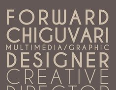 "Check out new work on my @Behance portfolio: ""FORWARD CHIGUVARI CV"" http://be.net/gallery/45886731/FORWARD-CHIGUVARI-CV"