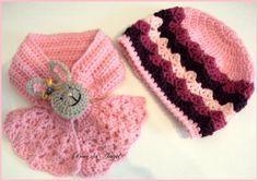 Jogo de cachecol ou gola em crochê com boina feitos em crochê utilizando lã mista ou acrílica de excelente qualidade em tamanhos infantil a adulto. Aceito sugestões e idéias ou até fotos de algum produto que tenha foto para confecção.