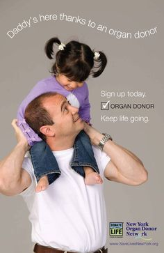 Who's still in your life thanks to an organ donor? #havethechat #giftoflife #DonateLife