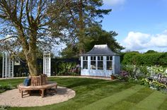 Sheila & Alex's garden was destroyed by the Somerset floods, it needed a bit of TLC. The Love Your Garden team made it a place to be enjoyed again! Garden Makeover, Garden Oasis, She Sheds, Garden Photos, Garden Styles, Be Perfect, New England, Gazebo, Lawn