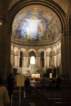 Vista do interior da Basílica