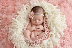 Parfait Pink Baby Bowl Newborn Egg | Beautiful Photo Props