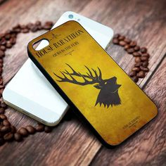 House Baratheon Game Of Thrones | Movie | custom case for iphone 4/4s 5 5s 5c 6 6plus case and samsung galaxy s3 s4 s5 s6 case - RSBLVD