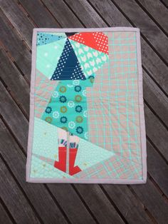 Paper Pieced Mini by Sewn by Leanne