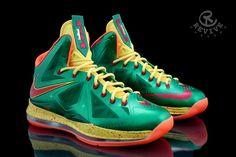Lebron X Price is Right Customs