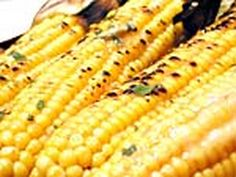 Corn with Chile Lime Butter. Chef Aaron Sanchez.