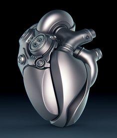 Um trabalho de sci-fi bem bacana do artista conceitual ucranianoAleksandr Kuskov, mostrando uma mão biônica segurando um coração eletro-mecânico. O resultado ficou bem bacana e até tem uns estudos…