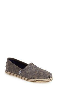 TOMS+'Classic+-+Shashiko'+Slip-On+(Women)+available+at+#Nordstrom