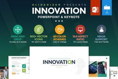 60 in 1 Bundle Powerpoint + Keynote by Slidedizer on @creativemarket