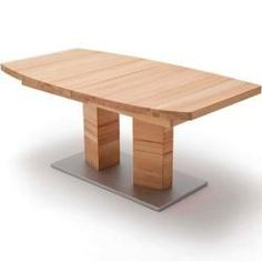 Mca Cuneo Ausziehtisch Bootsform Kernbuche/Silber Mca Furnituremca furniture These are simply a limited explanation Diy Furniture Plans, Table Furniture, Modern Furniture, Solid Wood Dining Table, Dining Tables, Modern Coffee Tables, Diy Table, Wrought Iron, Woodworking