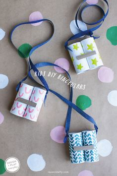 MINI MAKERS: KIDS DIY BINOCULARS | RAE ANN KELLY