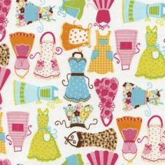 Fabric Categories > Novelty > Kitchen - Old Country Store Fabrics