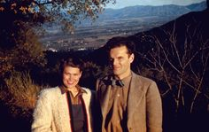 Charles and Ray in the Santa Monica mountains shortly after their arrival in Los Angeles, image credit: © 2010 Eames Office LLC, from the Collections of the Library of Congress