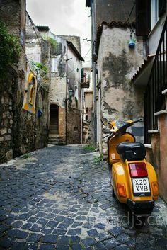 Scorcio centro storico Terracina  ( LT) Italy