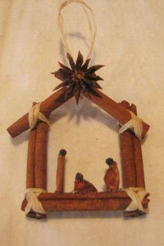 Weihnachtsanhänger- Gewürze
