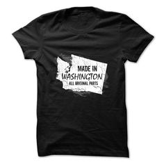 Washington t shirt Made in Washington T Shirts, Hoodies. Check price ==► https://www.sunfrog.com/Political/Made-in-Washington.html?41382 $22.5