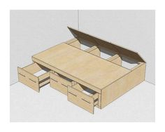 Кровать-подиум: советы, идеи, мнение специалиста