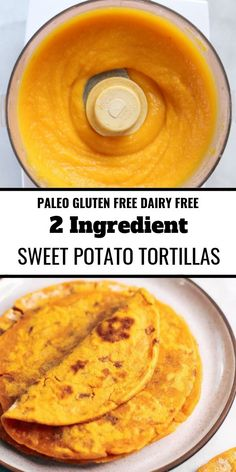 Sweet potato paleo tortillas made with two ingredients! An easy gluten free and paleo tortilla recipe. These tortillas are pliable, delicious, and easy to make! paleo diet Two Ingredient Sweet Potato Tortillas Mexican Food Recipes, Whole Food Recipes, Vegetarian Recipes, Cooking Recipes, Healthy Recipes, Cooking Tips, Cooking Bacon, Healthy Foods, Easy Recipes
