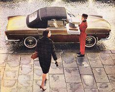Renault Floride place Vendôme 1960
