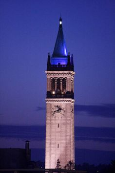 Campanille at UC Berkeley - Berkeley, CA... I CAN'T WAIT! :D